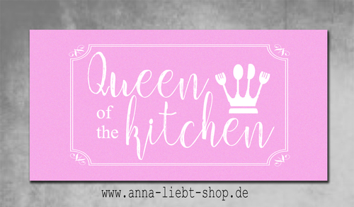 Queen of the kitchen - rosa