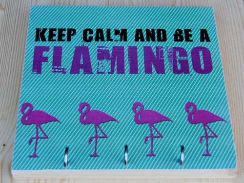 Keep calm - be a Flamingo